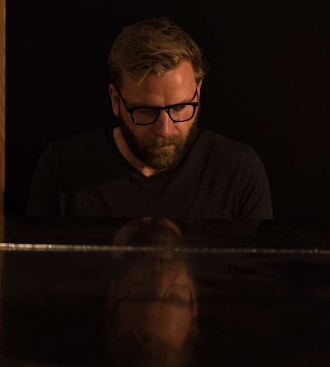 Triple threat Liam Davis plays piano, organ, and sings on the album. (photo by Tim Brown)