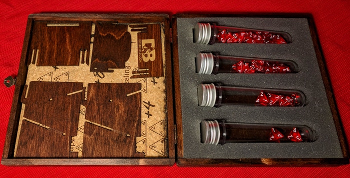 Stretch Goal - $20,000 dice tower unassembled