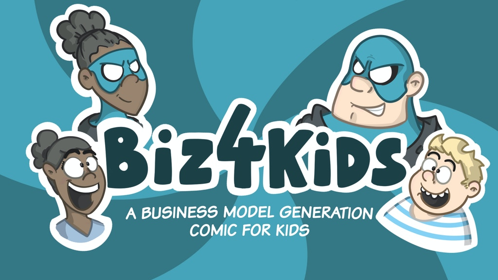 Biz4Kids Comic project video thumbnail
