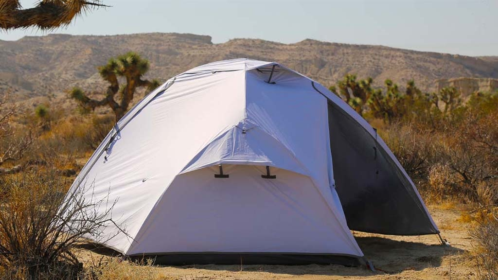 SIESTA2: Compact Heat & Light Blocking Tent for All Seasons project video thumbnail