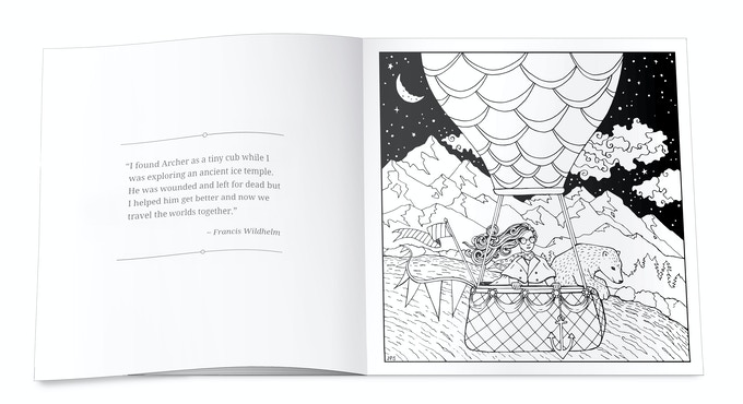 Full page spread sample