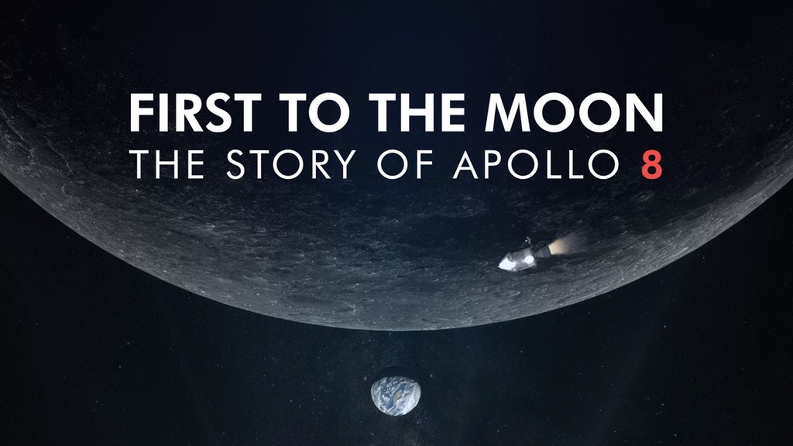 First to the Moon is a documentary film that tells the story of Apollo 8, the first mission that took humans beyond the earth in 1968.