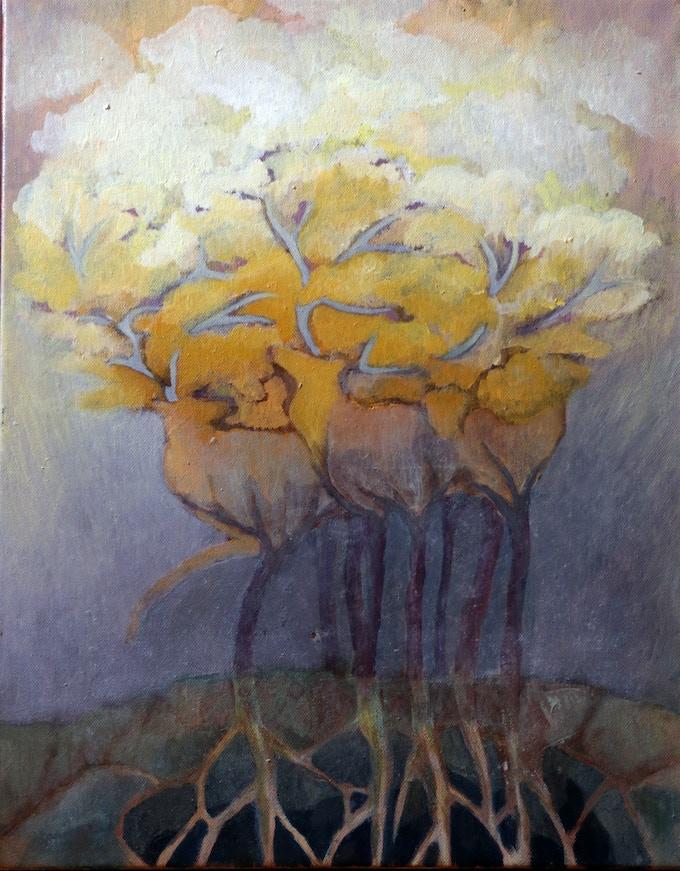 and the painting of Edina Kulcsár