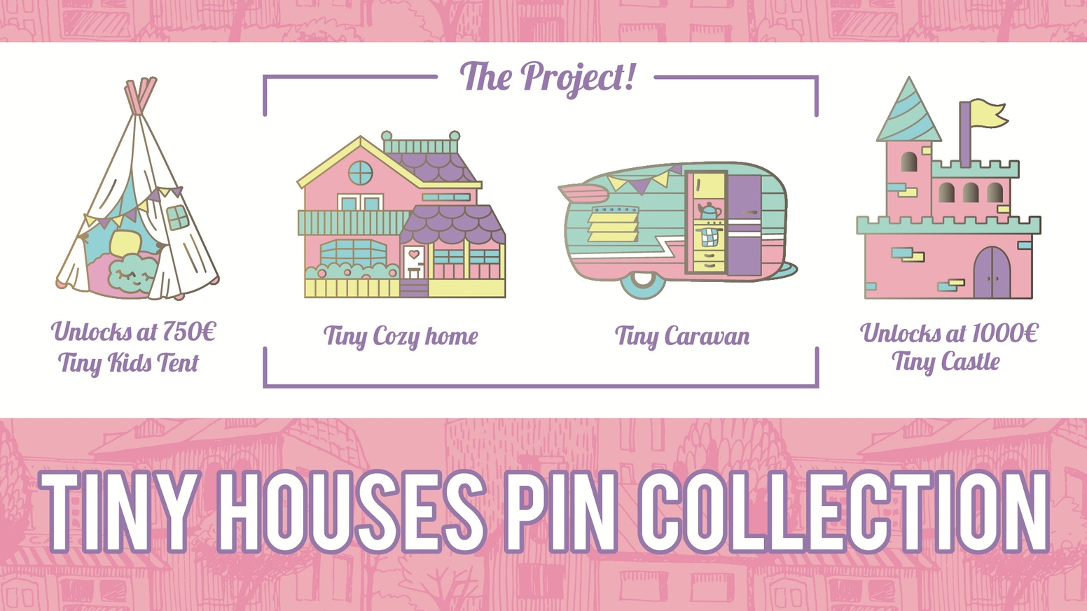 Tiny Houses Pin Collection by Vintagepplife — Kickstarter