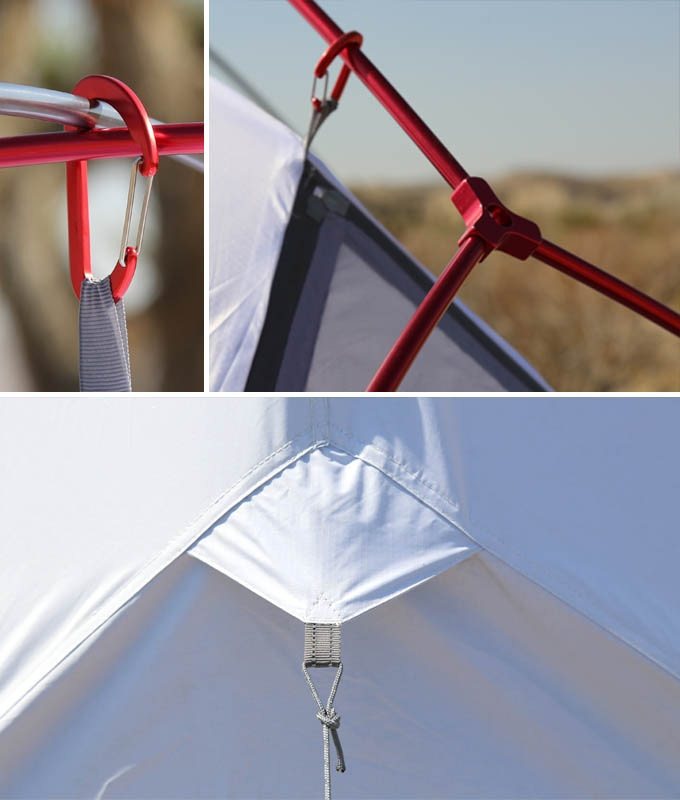 Light Pole Collapse: SIESTA2: Compact Heat & Light Blocking Tent For All
