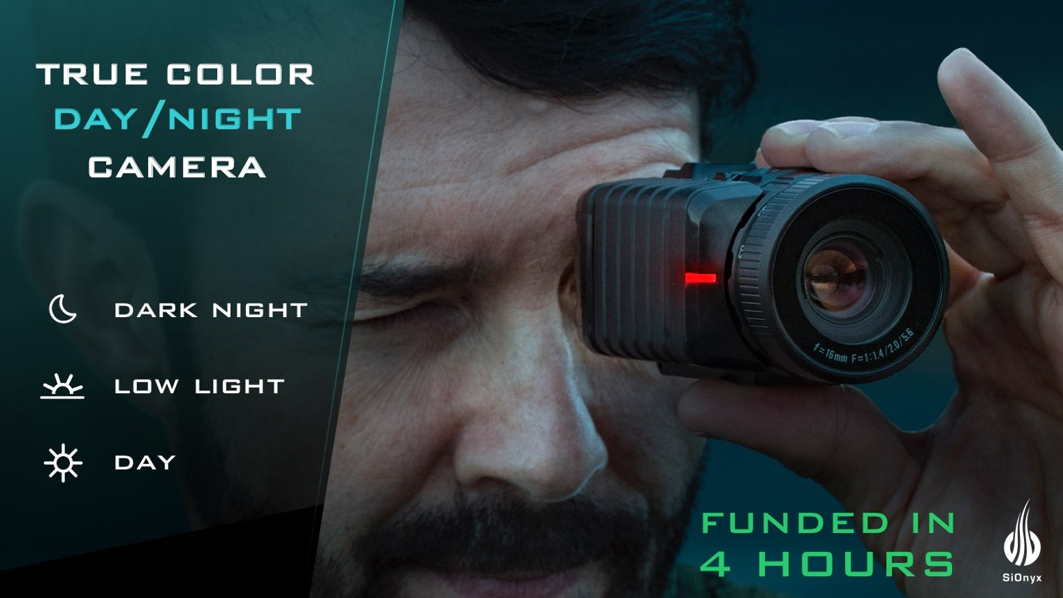 View, record and review life's adventures all day and night. True color night vision enhances your safety, lifestyle and experience.