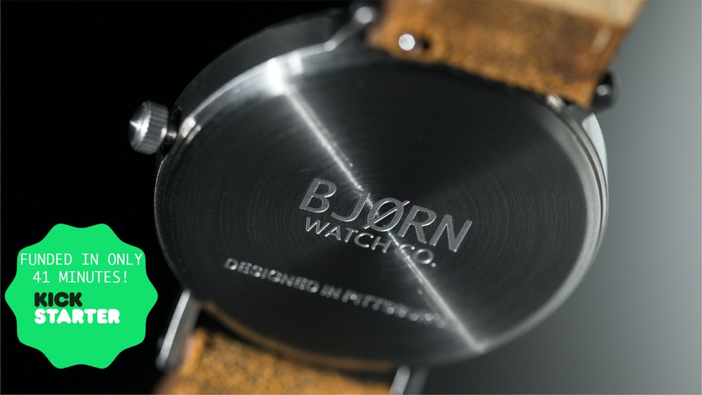 The Only Watch With 6 Straps - BJØRN Watch Co. project video thumbnail