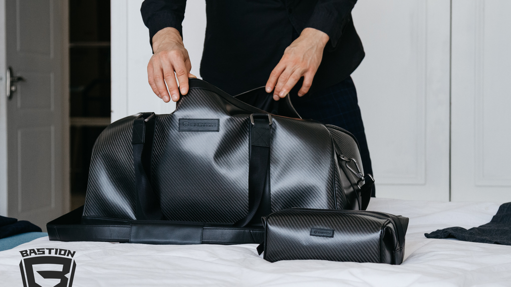 CARBONITE - Carbon Fiber Duffel Bag & Luggage Set by Bastion project video thumbnail