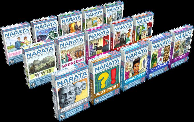 Narata Expansion Decks.