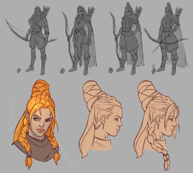 Early concepts of Lynelle
