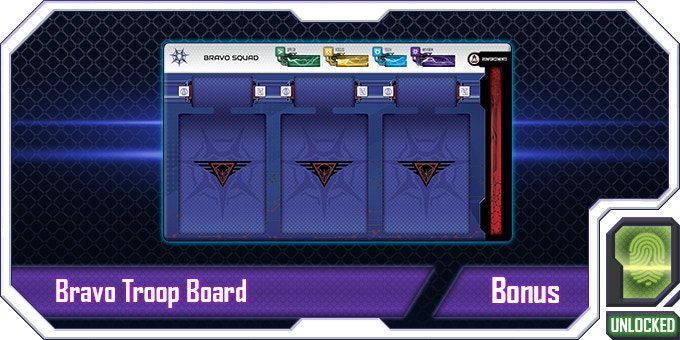 Now the LEGION has a second troop board to bring more Troop types to the battle! Combine their special skills in creative ways to really create some chaos!