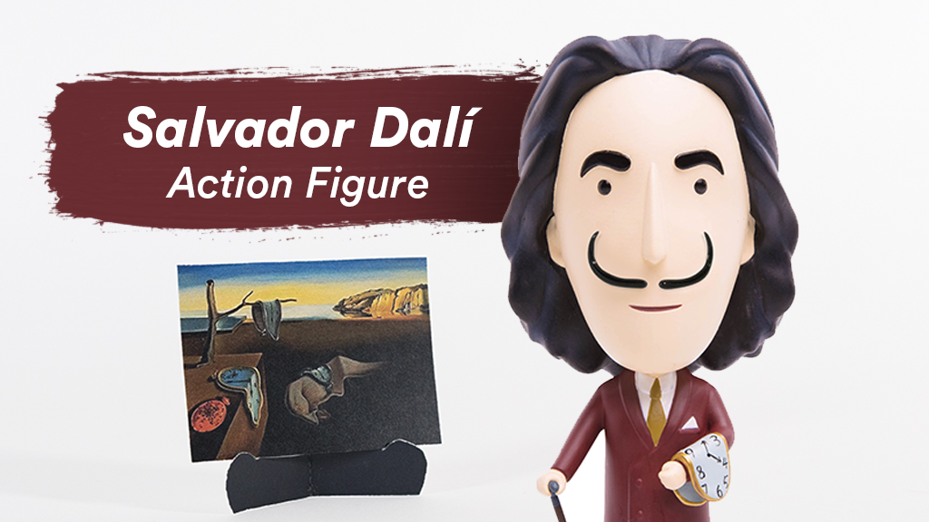 Salvador Dalí Action Figure project video thumbnail