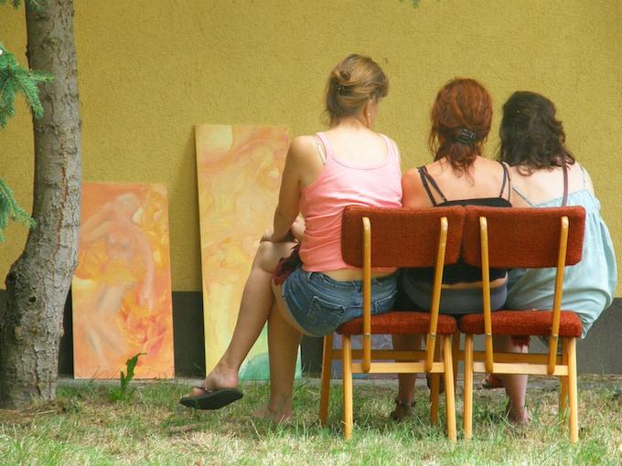 artists residency, observation