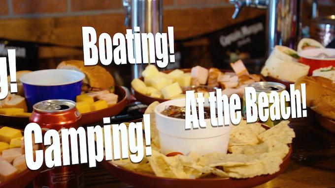Boating, Pontoons, Beach, or Backyard BBQs