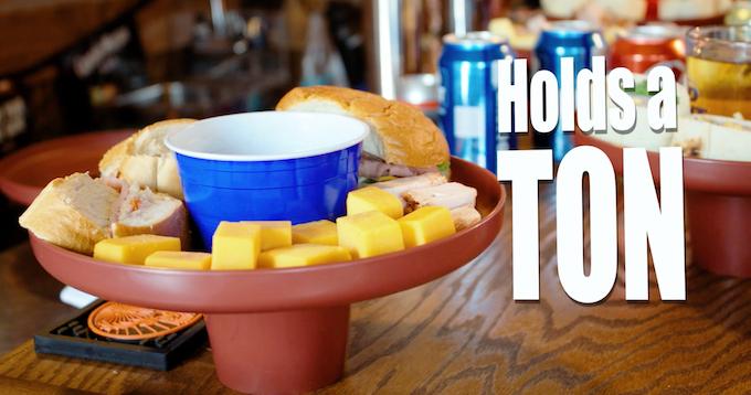 No Mess, Dishwasher Safe, Highly Durable Food Grade Plastic