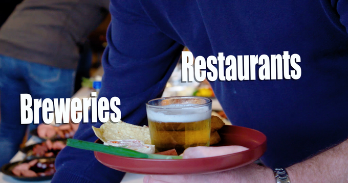 Restaurants, Bars, Brewpubs, Breweries, and Diners