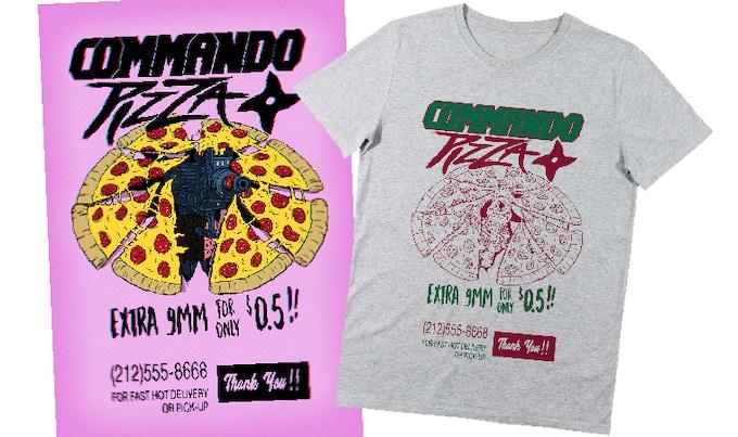Exclusive Kickstarter backers Tee Shirt with postal card !