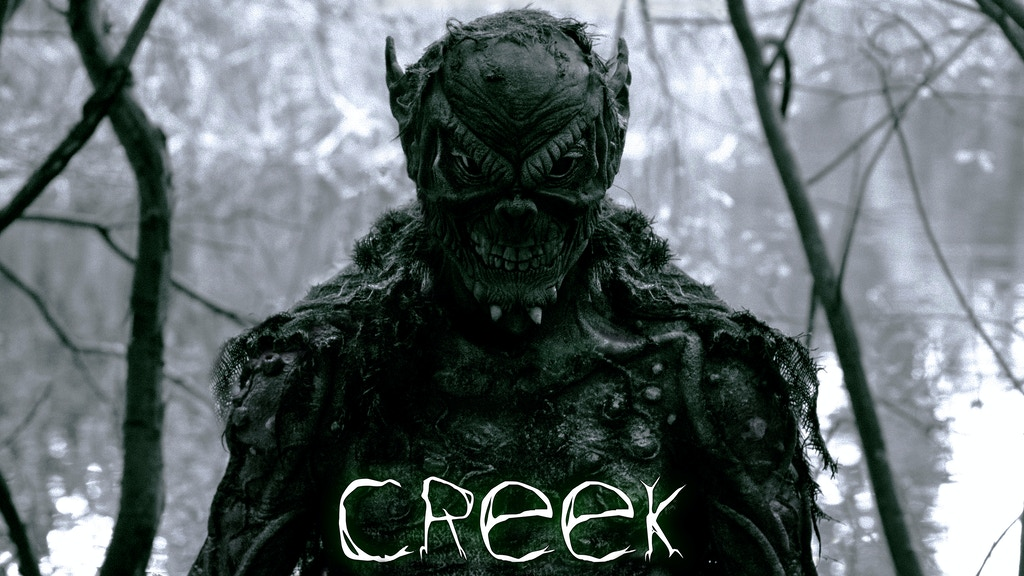 CREEK - a Creature Feature short horror film project video thumbnail