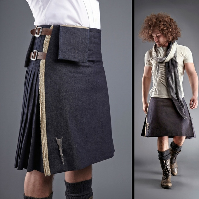 DESIGN SAMPLE - 21ST CENTURY KILT STYLE