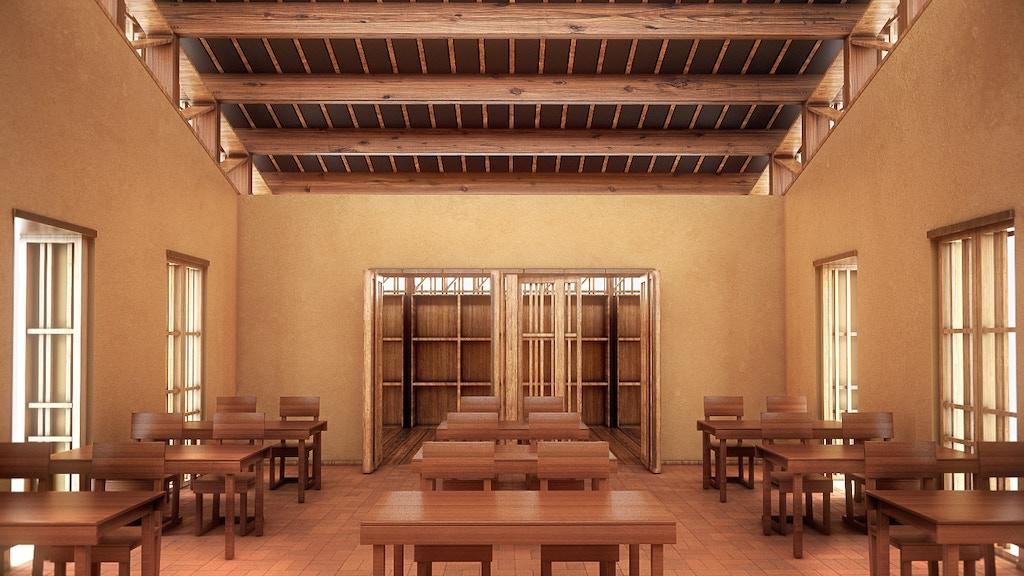 "aulaterra ""a classroom for Ghana"" project video thumbnail"