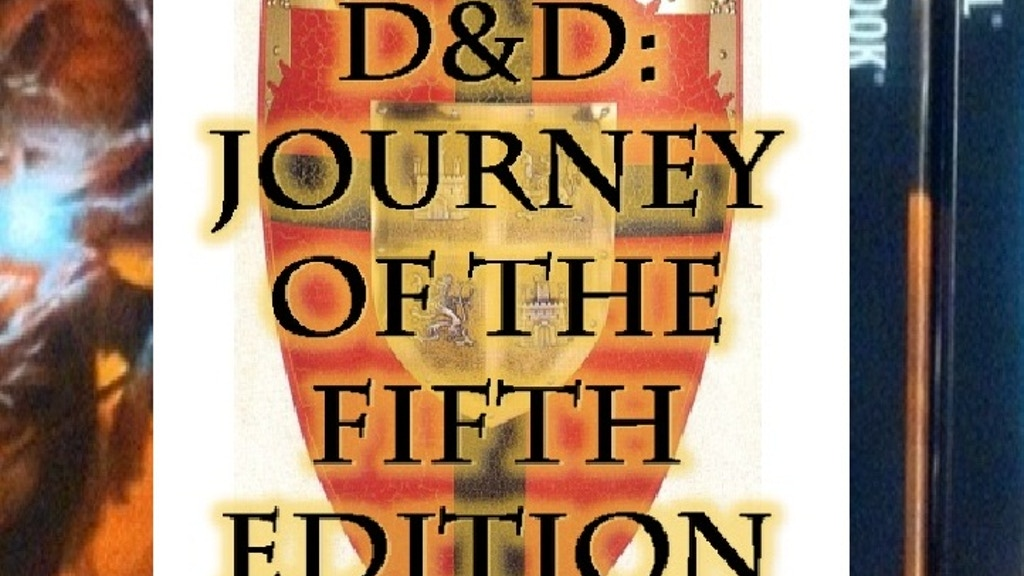 Help launch season five of DnD Journey of the Fifth Edition project video thumbnail