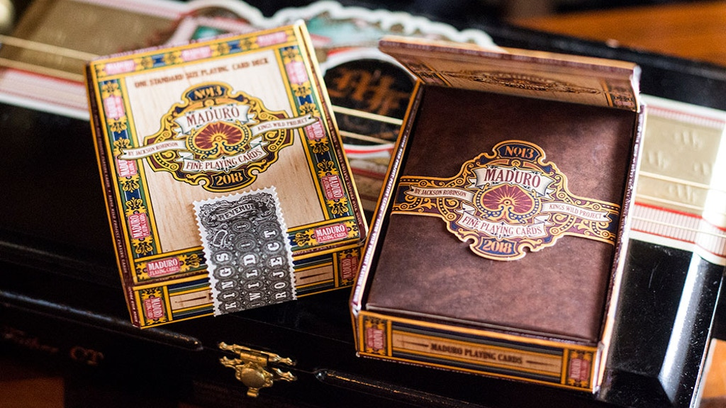Maduro Playing Cards, inspired by the art of cigar bands. project video thumbnail