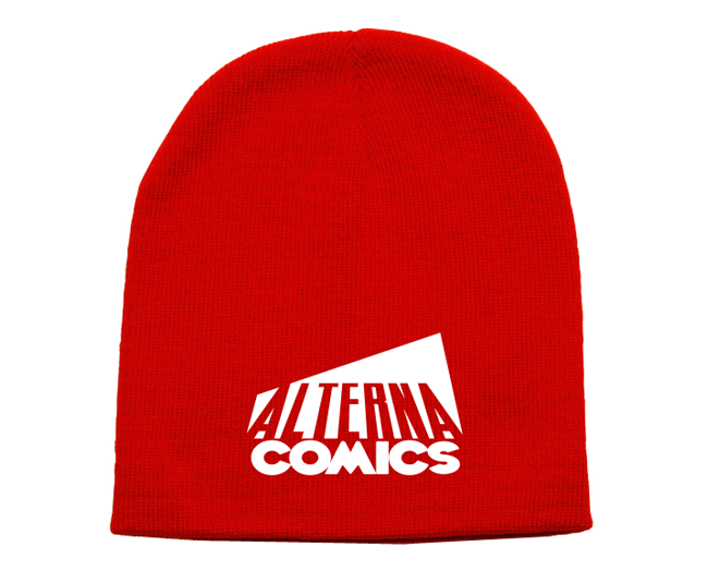 Keep your noggin warm with this Alterna Comics beanie!