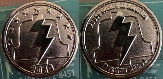 The original 2014 PLA coins