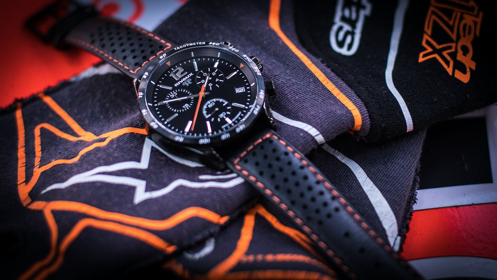 Rivaux RVX142-series Racing Chronograph watch