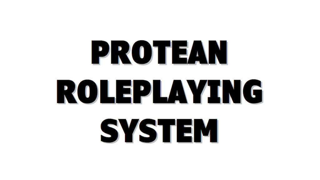 Project image for Protean Roleplaying System