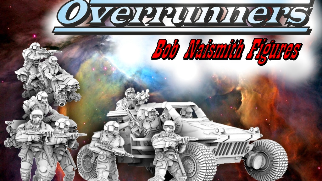 Overrunners - 28mm heroic Sci Fi resin figures and vehicles project video thumbnail