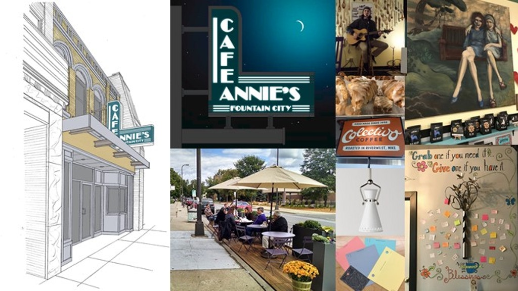 Annie's Fountain City Cafe Main Street Makeover Project project video thumbnail