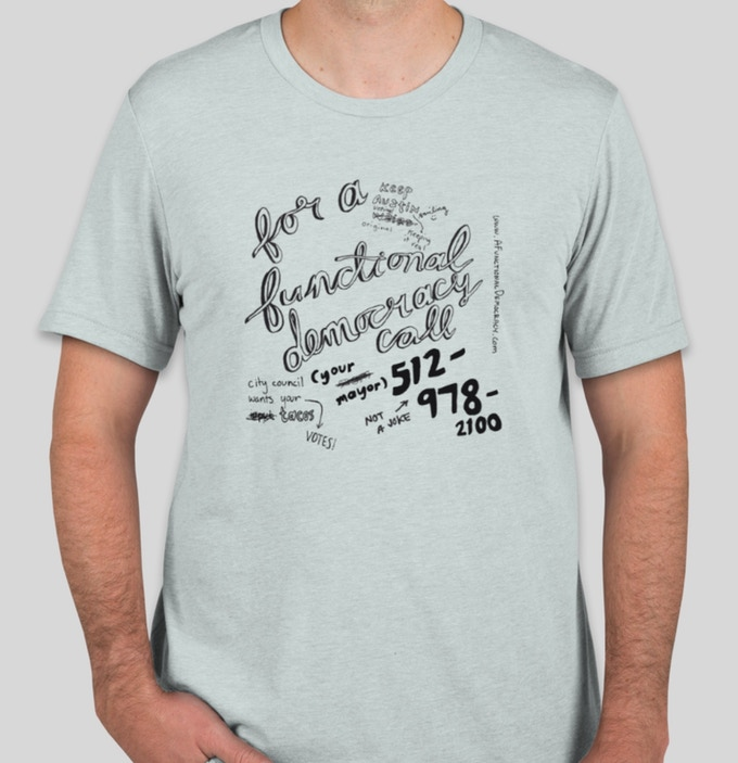 A Functional Democracy T-Shirt, Men's