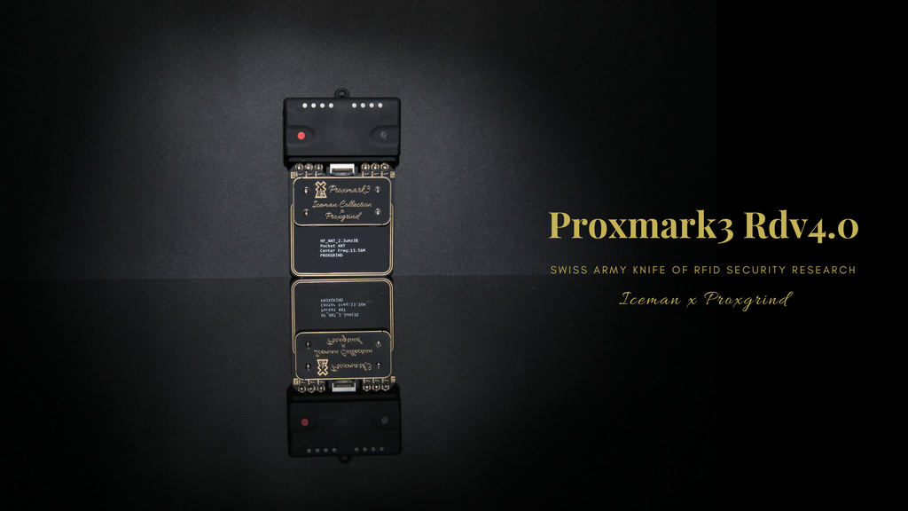 Proxmark3 Rdv 4.0 project video thumbnail