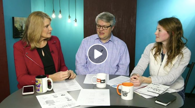 """""""A Beginner's Guide To Local Government"""" Co-Author Amy Stansbury speaks about the book to KLRU's Judy Maggio and KUT's Ben Philpott on Decibel."""