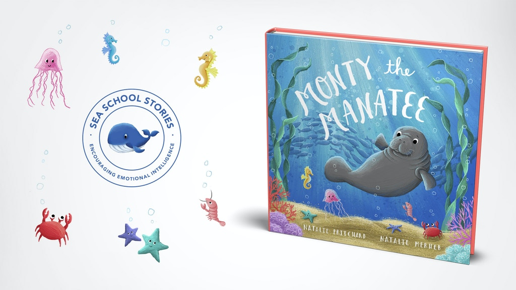 Monty the Manatee; a book encouraging children to be kind project video thumbnail
