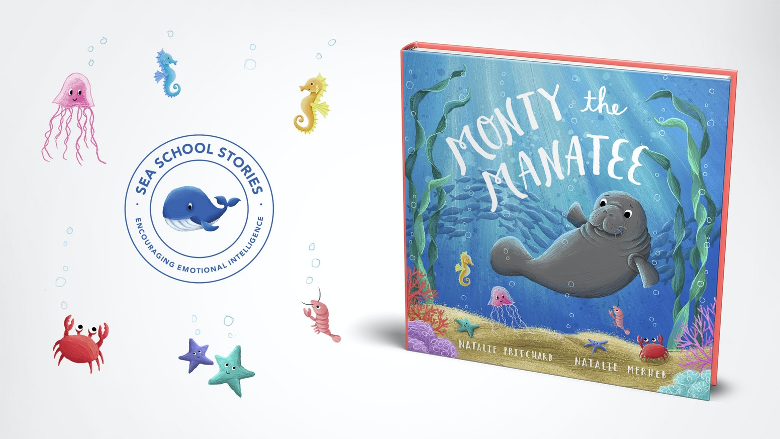 A children's rhyming story book about a manatee who is bullied; the first in a series which aim to encourage emotional intelligence.