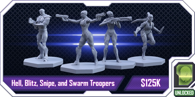 Now you have additional Troopers to command in the city!