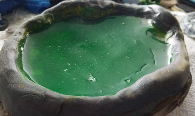 Green swamp/slime 100mm Prototype