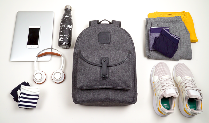 The Overnighter Backpack - Pack up to 1-2 days.