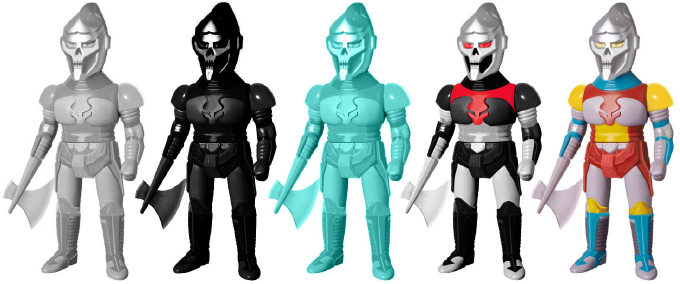 Blank and Painted Edition Vinyl Toys