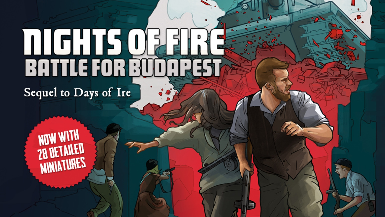 Fight against the Soviet onslaught in this revolutionary 1-3 player game!