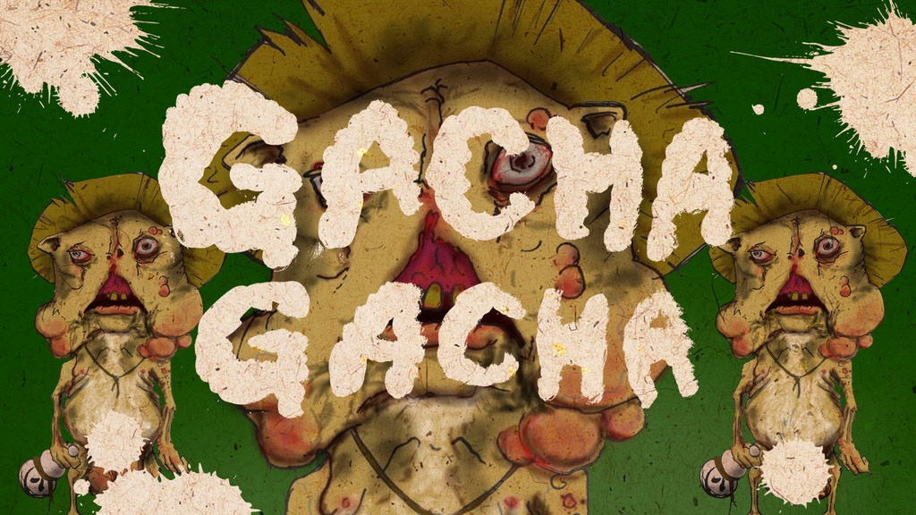 GACHA GACHA - A nightmarish short film with a gooey tanuki! project video thumbnail