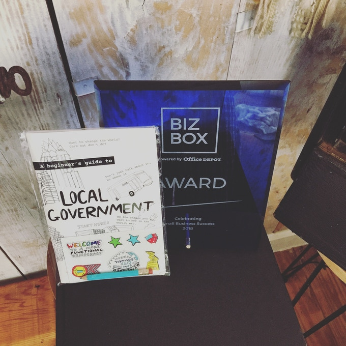 BizBox Award Winner