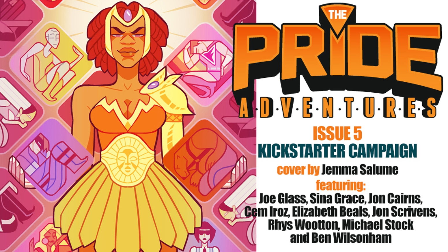 The new issue of the LGBTQ superhero anthology series following The Pride through new adventures in the fight for equality and justice for all!