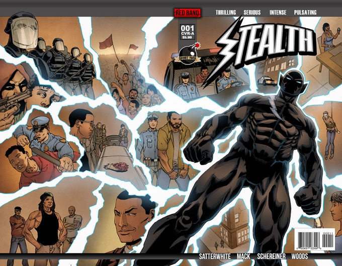 Stealth #1 Cover