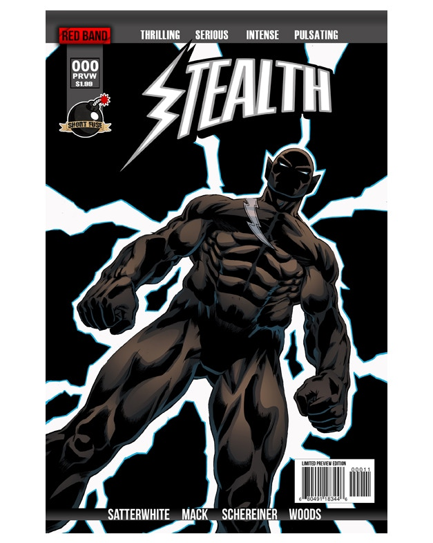 Stealth #0 Limited Preview Edition Cover