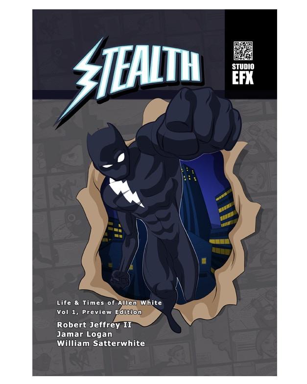 Stealth Original Graphic Novel Preview Cover