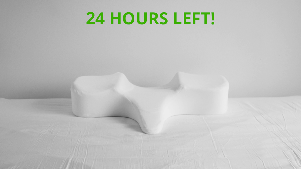 Fix Your Posture While You Sleep with True Pillow by Spine Perfect ...
