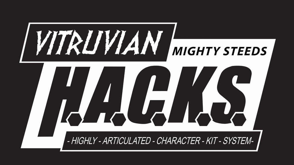 Vitruvian H.A.C.K.S. 1:18 Articulated Horses by Boss Fight project video thumbnail